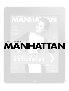 Article - MODERN LUXURY Manhattan (September 2014)