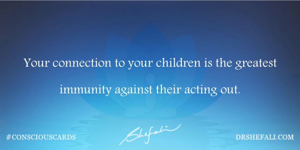 Your connection to your children – Conscious Cards – February 8, 2016