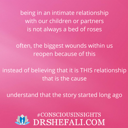Being in an intimate relationship – Conscious Insights – March 2, 2016