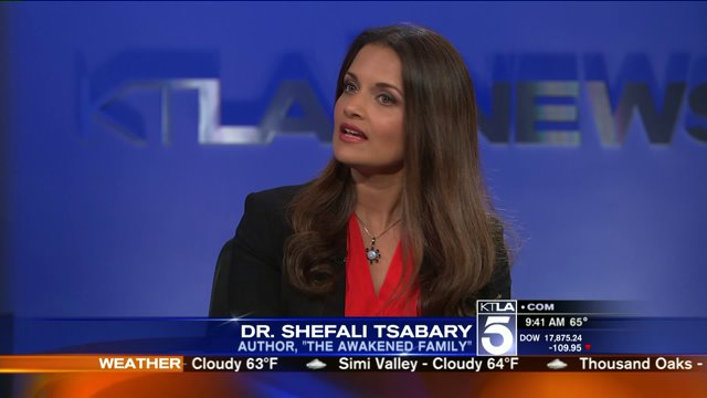 Dr. Shefali on KTLA 5 Morning News