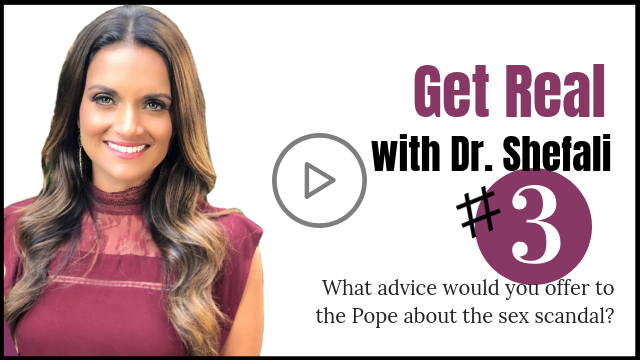 GET REAL: What advice would you offer to Pope about the sex scandal?