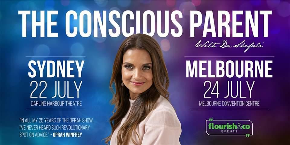 The Conscious Parent - 4hrs with Dr Shefali - SYDNEY
